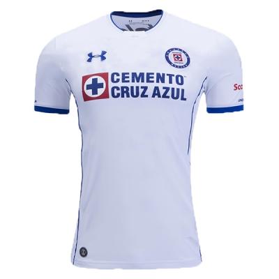 17-18 CDSC Cruz Azul Away White Soccer Jersey Shirt