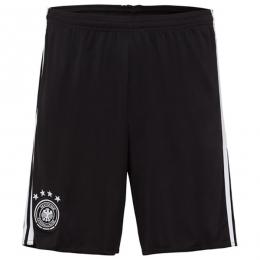 2017 Germany Home Black Soccer Jersey Short