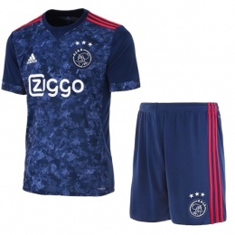 17-18 Ajax Away Soccer Jersey Kit(Shirt+Short)