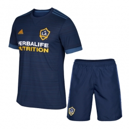 17-18 La Galaxy Away Navy Jersey Kit(Shirt+Short)