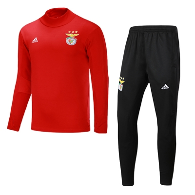 17-18 Benfica Red&Black Training Kit(Sweat Top Shirt+Trouser)