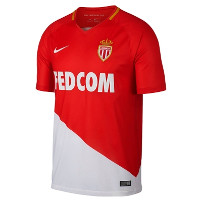 17-18 AS Monaco FC Home Soccer Jersey Shirt