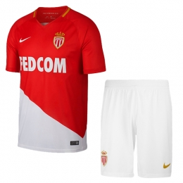 17-18 AS Monaco FC Home Soccer Jersey Kit(Shirt+Short)