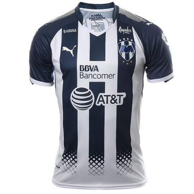 17-18 Monterrey Home Black Jersey Shirt