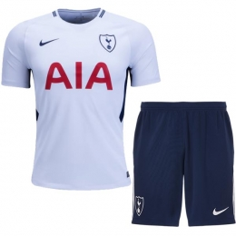 17-18 Tottenham Hotspur Home Jersey Kit(Shirt+Short)