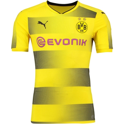 17-18 Borussia Dortmund Home Soccer Jersey Shirt(Player Version)