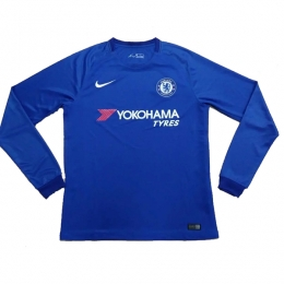 17-18 Chelsea Home Long Sleeve Jersey Shirt