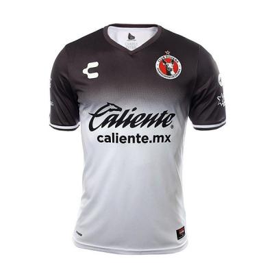 17-18 Club Tijuana Away White&Black Soccer Jersey Shirt