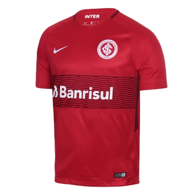 17-18 SC Internacional Home Red Soccer Jersey Shirt