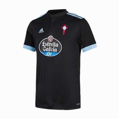 17-18 Celta Vigo Away Black Soccer Jersey Shirt