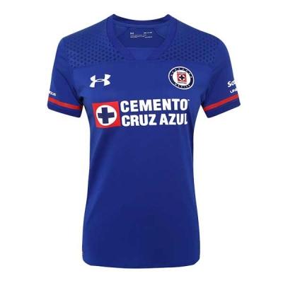 17-18 CDSC Cruz Azul Home Blue Soccer Jersey Shirt