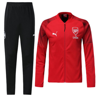 half off 8bef8 2f053 18-19 Arsenal Red Training Kit(Jacket+Trousers)