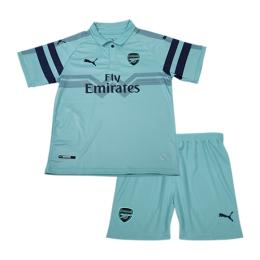 5a05790d7 Home Children Soccer Jersey Kits >> Club Kids Jerseys >> Arsenal >> 18-19  Arsenal Third Away Green Children's Jersey Kit(Shirt+Short)