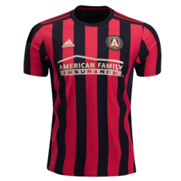 watch aef8d 10558 2019 Atlanta United Home Red&Black Soccer Jerseys Shirt