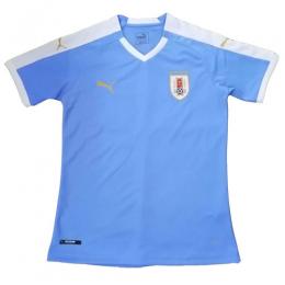 sale retailer d4508 c28ec 2019 Uruguay Home Blue Soccer Jerseys Shirt