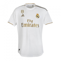 pretty nice 0db4a 06890 19-20 Real Madrid Home White Soccer Jerseys Shirt(Player Version)
