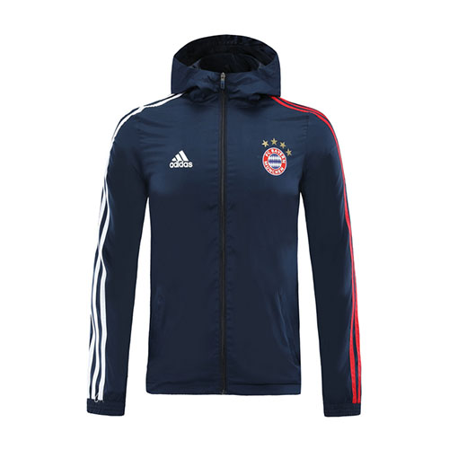 Bayern Munich Windbreaker 2020/21 - Navy