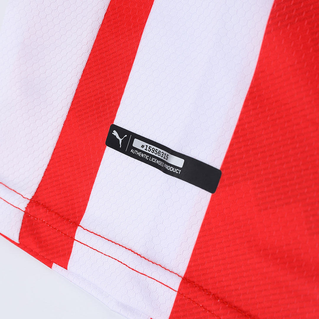 20/21 PSV Eindhoven Home Red&White Jerseys Shirt