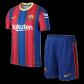 Barcelona Home Jersey Kit 2020/21 (Shirt+Shorts)