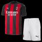 AC Milan Home Jersey Kit 2020/21 (Shirt+Shorts)