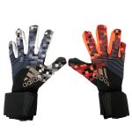AD White&Orange Predator Pro Goalkeeper Gloves