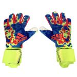 AD Camouflage Blue Predator Pro Goalkeeper Gloves