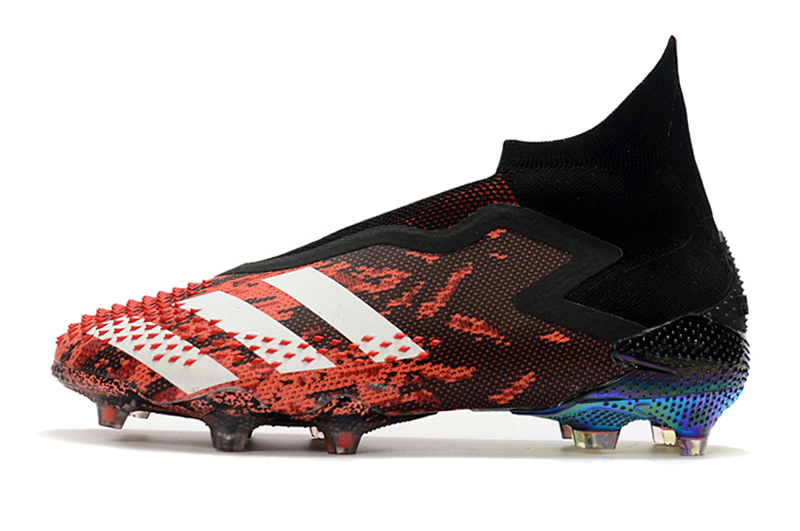 AD Predator Mutator 20+ FG Soccer Cleats-Black&Red