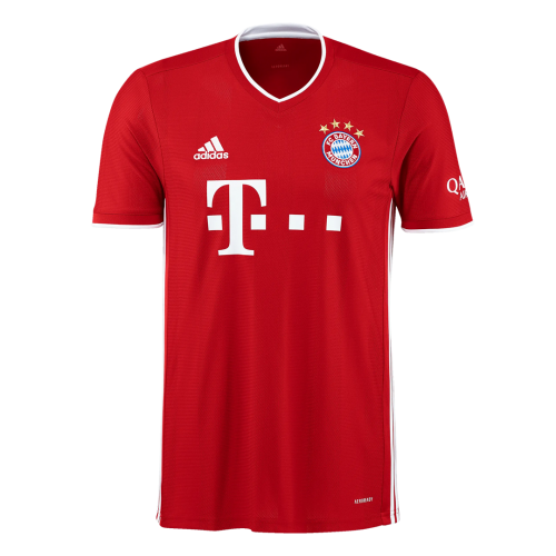 20/21 Bayern Munich Home Red Jerseys Whole Kit(Shirt+Short+Socks)