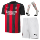 AC Milan Home Jersey Kit 2020/21 (Shirt+Shorts+Socks)