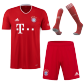 Bayern Munich Home Jersey Kit 2020/21 (Shirt+Shorts+Socks)