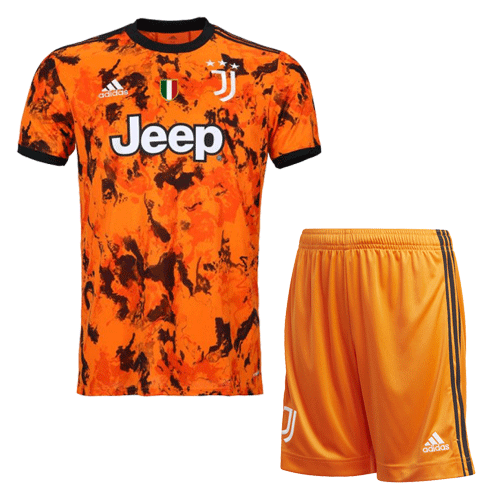 Juventus Third Away Jersey Kit 2020/21 (Shirt+Shorts)
