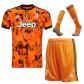 Juventus Third Away Jersey Kit 2020/21 (Shirt+Shorts+Socks)