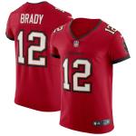 Tom Brady #12 Tampa Bay Buccaneers Vapor Game Jersey - Red