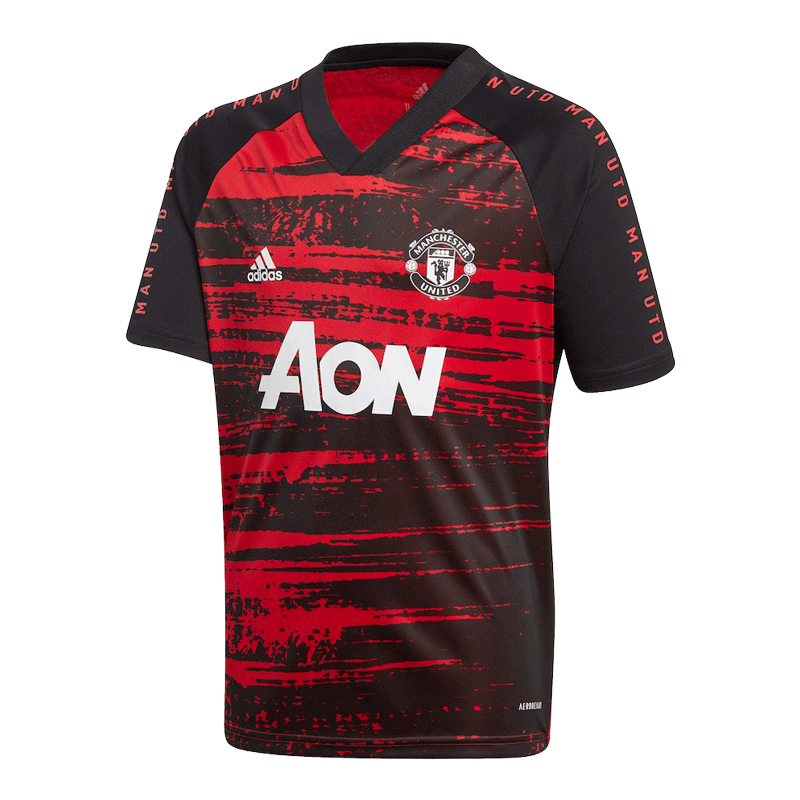 Manchester United Training Jersey 2020/21 - Red&Black