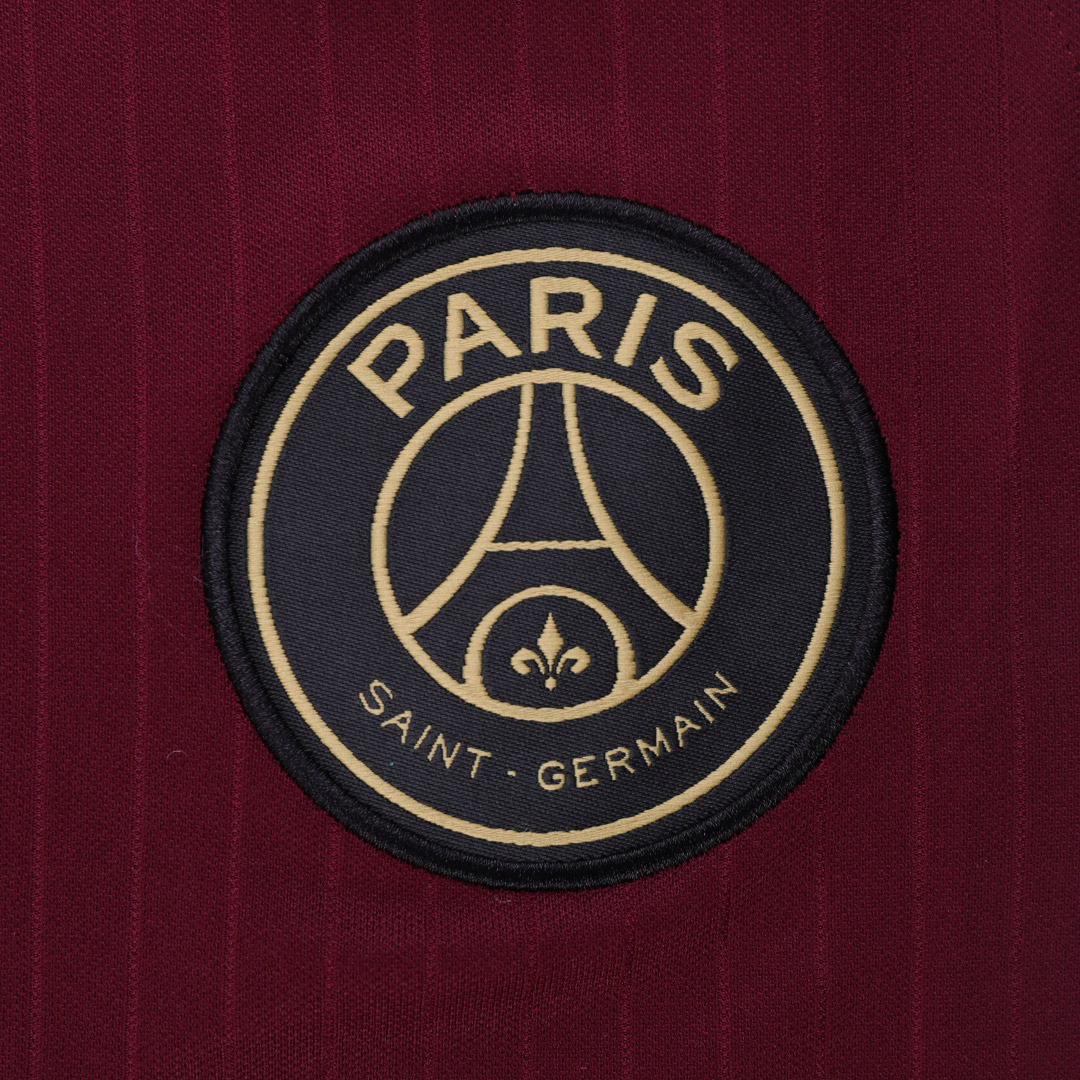 20/21 PSG Third Away Dark Red Soccer Jerseys Shirt