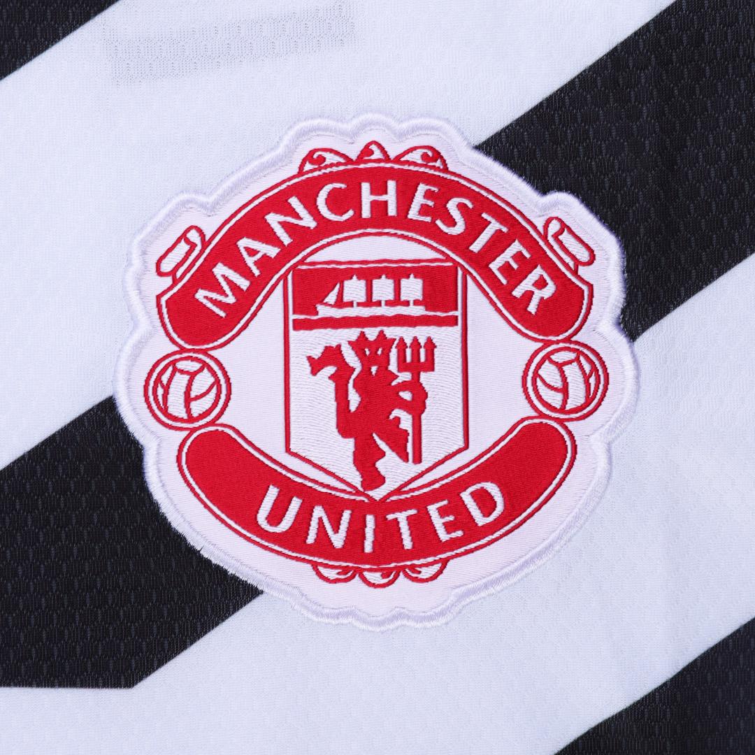 20/21 Manchester United Third Away White Jerseys Shirt