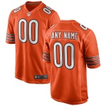 Men's Chicago Bears Nike Orange Alternate Vapor Limited Jersey