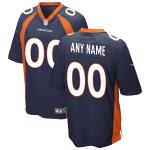 Men's Denver Broncos Nike Navy Alternate Vapor Limited Jersey