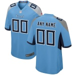 Men's Tennessee Titans Nike Light Blue Alternate Vapor Limited Jersey