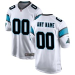 Men's Carolina Panthers Nike White Vapor Limited Jersey