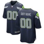 Men's Seattle Seahawks Nike College Navy Vapor Limited Jersey