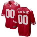 Men's San Francisco 49ers Nike Scarlet Vapor Limited Jersey