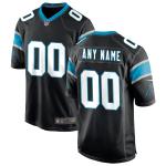 Men's Carolina Panthers Nike Black Vapor Limited Jersey