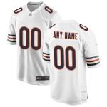 Men's Chicago Bears Nike White Vapor Limited Jersey