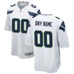 Men's Seattle Seahawks Nike White Vapor Limited Jersey