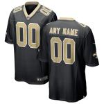 Men's New Orleans Saints Nike Black Vapor Limited Jersey