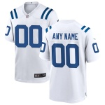 Men's Indianapolis Colts Nike White Vapor Limited Jersey