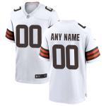 Men's Cleveland Browns Nike White Vapor Limited Jersey