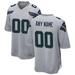 Men's Seattle Seahawks Nike Gray Alternate Vapor Limited Jersey