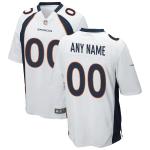 Men's Denver Broncos Nike White Vapor Limited Jersey